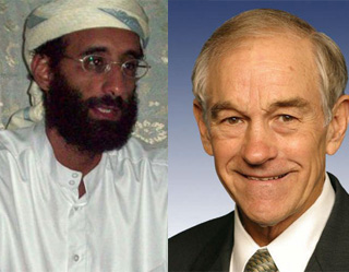 Ron Paul, Al-Awlaki