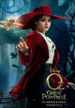 Oz the Great and Powerful , Mila Kunis was Excellent
