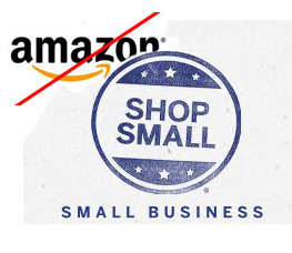 Refuse Amazon, Shop Small Business